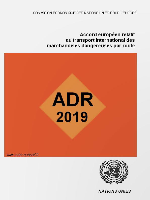 ADR 2017, conseiller sécurité TMD